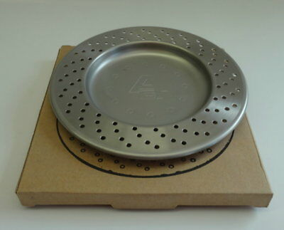 AUTOart Brake Rotor Stainless Steel Plate 4 inches.