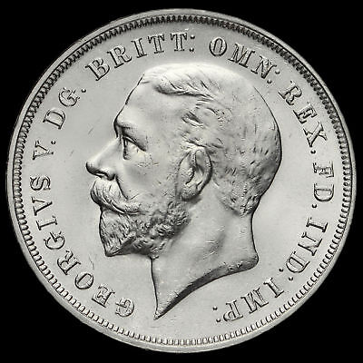 1935 King George V Rocking Horse Silver Jubilee Crown, A/UNC
