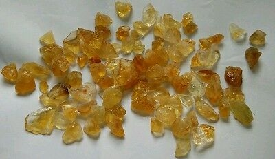 50g Natural Rough Golden Citrine Pieces