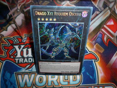 Yu Gi Oh Drago Xyz Requiem Oscuro Inov It 049 Rara Segreta Ita