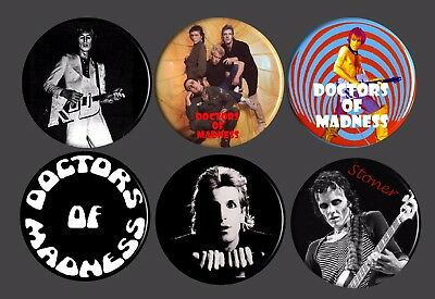 Doctors Of Madness Badges