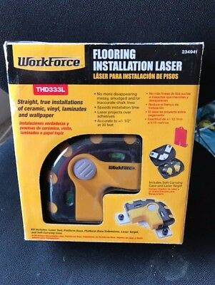 Workforce THD333L Flooring and Tile Installation Laser New