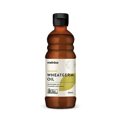 Melrose Organic Wheatgerm Oil 250ml Premium Wheat Germ Rich Source of Vitamin E