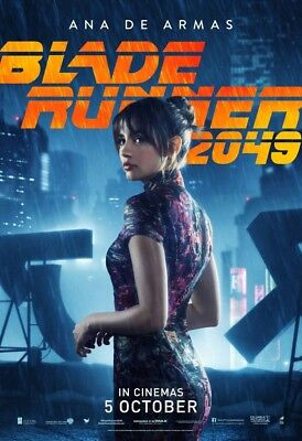 "Blade Runner 2049 Movie Poster Joi Ana de Armas Art Print 21×14/"" 27×40/"" 32×48/"""