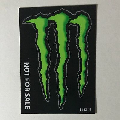 Monster Energy Drink DECAL STICKER 4 x 3 inches Quantity 1