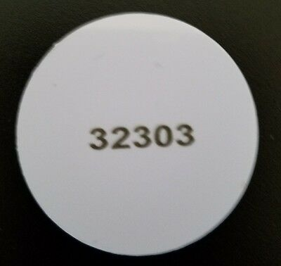 10 pack- Disc Proximity Sticker- HID MicroProx 1391 26-Bit H10301 compatible