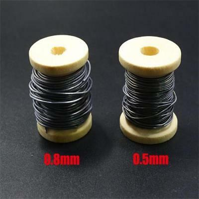 2 Sizes Dia 0.5 mm/0.8mm Round Ultra Soft Fly Tying Lead Wires 5meters/Spool