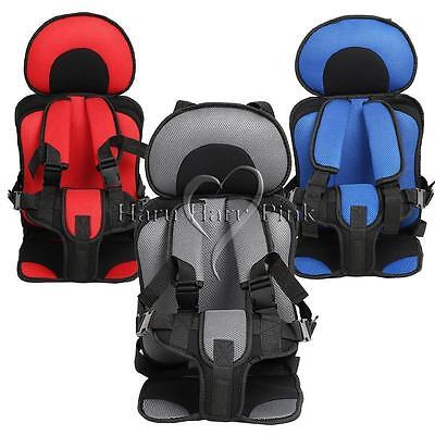 Baby Child Portable Car seat Travel Carry Toddler Harness Trip Red Taxi Blue NEW