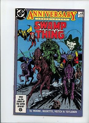 Swamp Thing #50 NM- 9.2 Deadman, Dr Fate Spectre Demon App Anniversary issue Key
