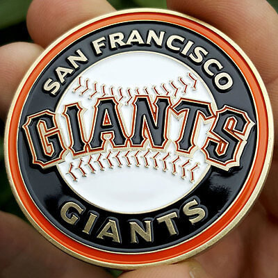 PREMIUM MLB San Francisco Giants Poker Card Protector Coin Golf Marker NEW