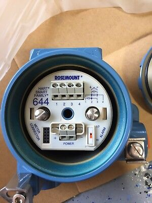 Emerson Rosemount 644 Temperature Transmitter IECEx for PT100 RTD Probe