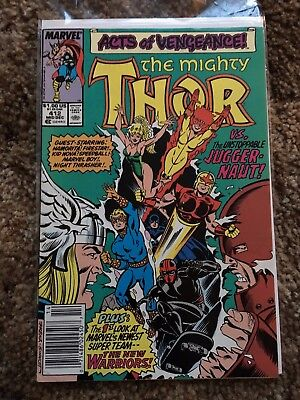 Thor #412 (Dec 1989, Marvel) First New Warriors!
