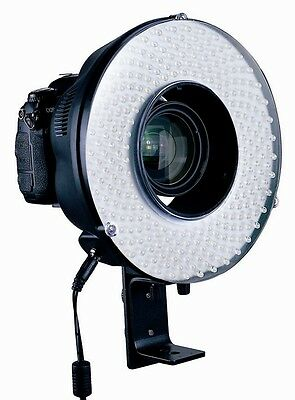 New 240 LED Continuous Video Light Ring For DSLR Video Camera 5DIII 7D 5DII D700