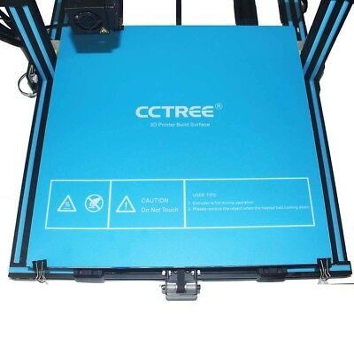 "CCTREE 3D Printer Build Surface Heated Bed Sheet for Creality CR-10S 12.2""x12.2"""