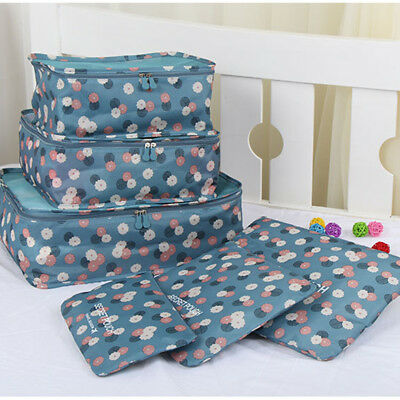 Waterproof Clothes Underwear Packing Cube Storage Travel Luggage Organizer Bag