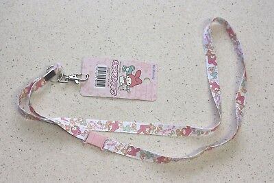 Sanrio My Melody Neck Strap Lanyard Key Chain Holder Kawaii Japan F/S
