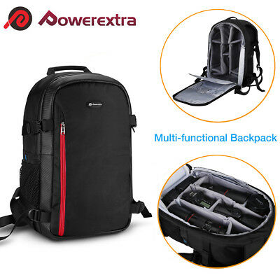 Multi-function Large DSLR Camera Backpack Shoulder Bag Case for Canon Nikon Sony