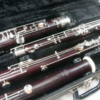 Selmer Wood Signet Bassoon, Overhauled with all new pads! Hard Case, Nice!