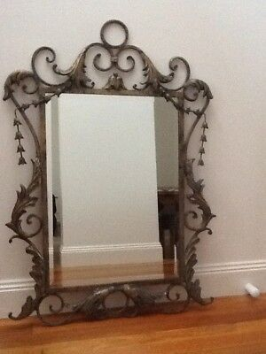French Provincial ornate framed style mirror Pick Up Melb