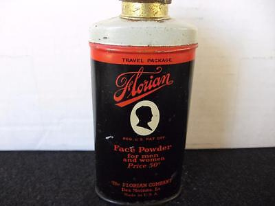 Vintage Florian Face Powder Tin~Rare Find