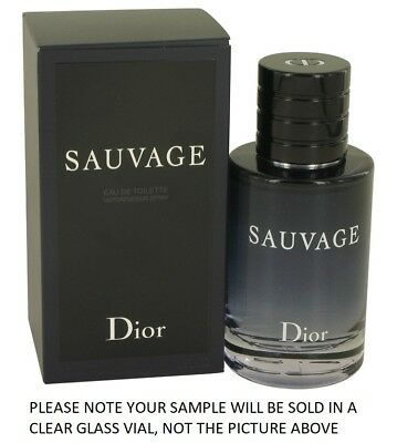 Sauvage by Christian Dior EDT Mens Cologne Fragrance 2ml, 5ml, 10ml