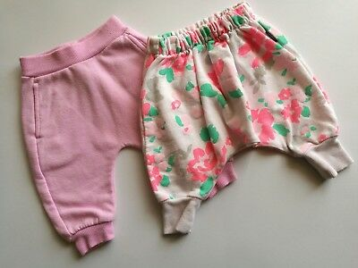 Baby Girls Bonds Tracky Pants size 000 Pink and Floral