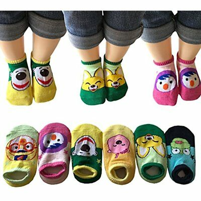 Categories Assorted Non-Skid Ankle Cotton Socks With Grip For 12-36 Months Baby,