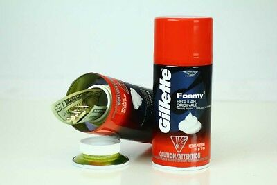 Gillette Shaving Cream - Diversion Can Safe - Made in the USA - Hidden Container