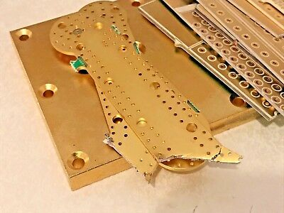 ~ High Quality ~GOLD PLATE     FOR collector or  SCRAP RECOVERY    102 gram