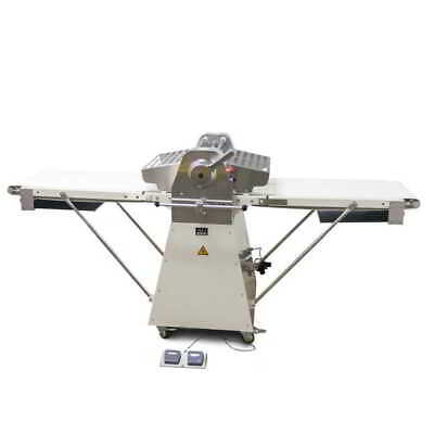 AG Equipment Commercial Dough Sheeting Sheeter Machine 520mm Belt 5Kg Dough Cap