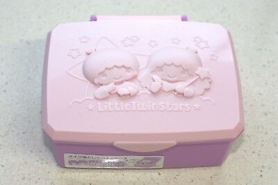 Sanrio Little Twin Stars Wipe sheet box Wet sheet box Kawaii cute Japan New F/S