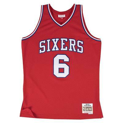 Mitchell & Ness Julius Erving #6 Philadelphia 76ers Swingman NBA Trikot