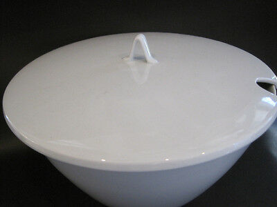 Pure WHITE  Rosenthal Conical Dish With Lid ready to entertain at your house