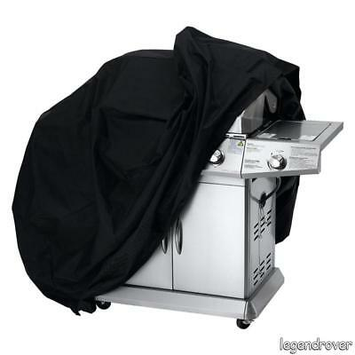 Heavy Duty BBQ Cover Waterproof Rain Snow Barbecue Grill Outdoor Protector Black