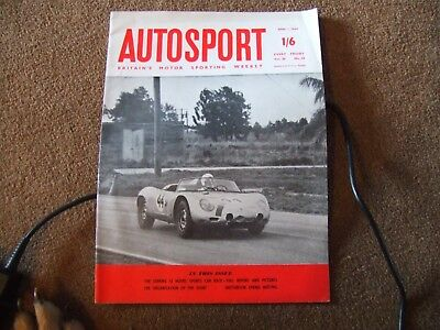 Autosport 1 April 1960 Sebring 12 Hours Hartwell Cup Trial Syracuse Snetterton