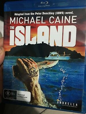 The Island BLU RAY (1980 Michael Caine adventure thriller movie) * rare *