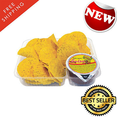 Gold Medal Heavy-Duty Plastic Nacho Trays, 2-Compartment (6 in. x 8 in. 500 Ct.)