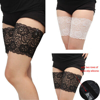 Thigh Chafing Sock Lace Socks Thigh Bands Leg Warmers Prevent  Sexy for Women