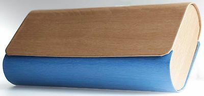 Double Glasses Case, Wood Look