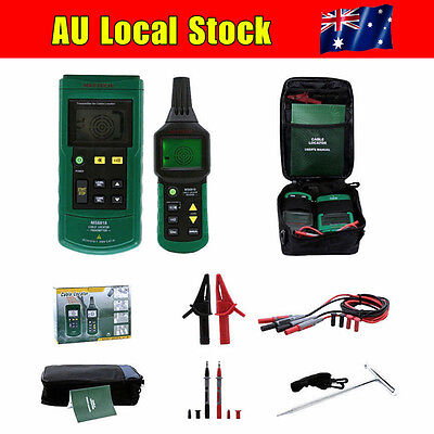 AU! MASTECH MS6818 Wire Pipe Line Tracker Cable Meter 125KHz AC DC 12~400V LCD