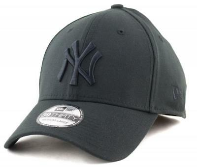 New York Yankees New Era MLB Team 39THIRTY Hat - Black Genuine Merchandise Cap