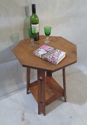 ANTIQUE ARTS & CRAFTS OAK TABLE c1880-1900 SOFA TABLE END TABLE SIDE TABLE