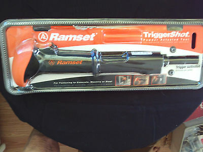 Ramset TriggerShot 0.22 lb. Caliber Powder Actuated Tool #40066