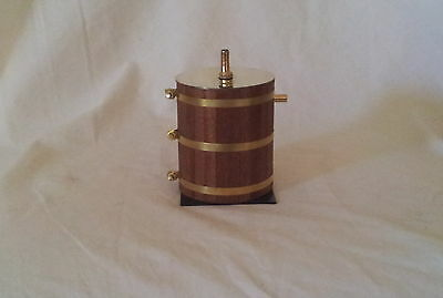 SALE Condenser/Oil Trap Steam Engine Plant Mahogany timber lagged