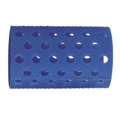Bucle azul plastico nº 5 37mm Famafabre. 12 unidades.
