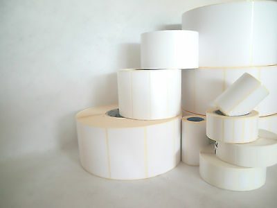 Shipping Warehouse Price Tags 60x15mm Transfer White Permanent