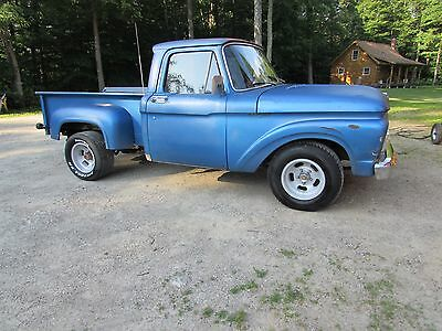 1962 Ford F-100  1962 Ford Pickup Rat Rod Hot Rod No Reserve