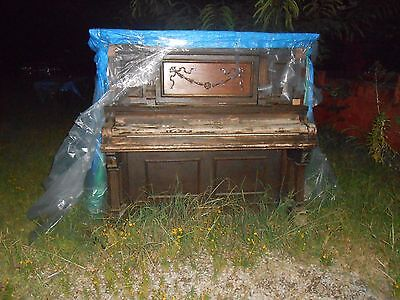 Antique Victorian BECKWITH Concert Grand  Piano Chicago Or Will Sell Parts