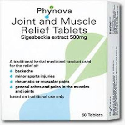 Phynova Joint & Muscle Relief Tablets 60 Tablets
