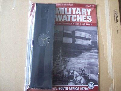 Military Watches Magazine Collection Issue 94 South African seaman 1970s